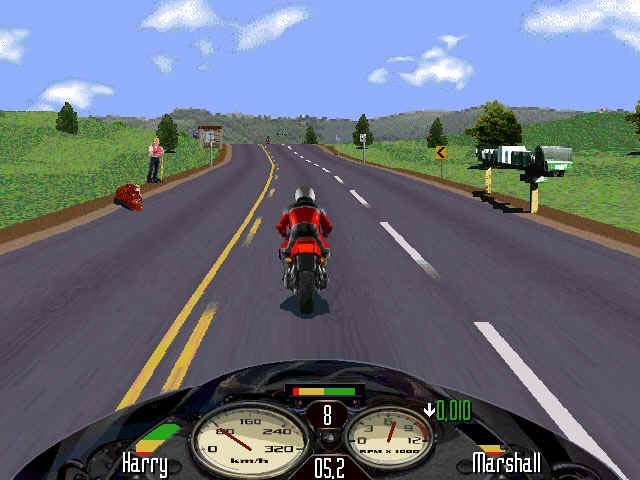 Road Rash PC Game Download Features